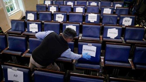 Roblox politics role-player crashes White House press corp