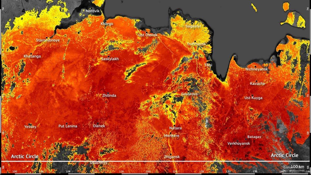 Ground Temperatures Hit 118 Degrees in the Arctic Circle