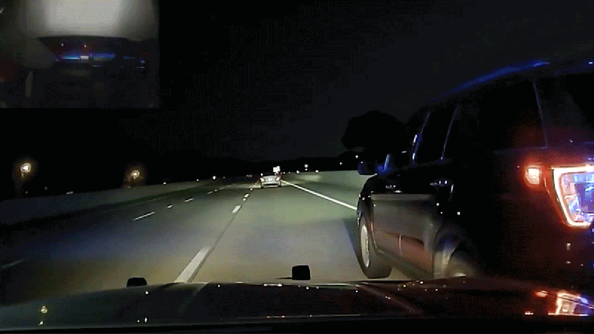 Cop Flips Pregnant Woman's Car While She Tries To Pull Over Safely