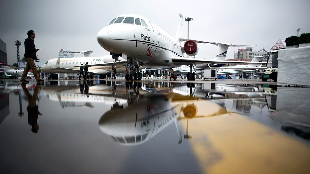 In This Trying Time, The Rich Are Struggling To Find Private Jets For Sale