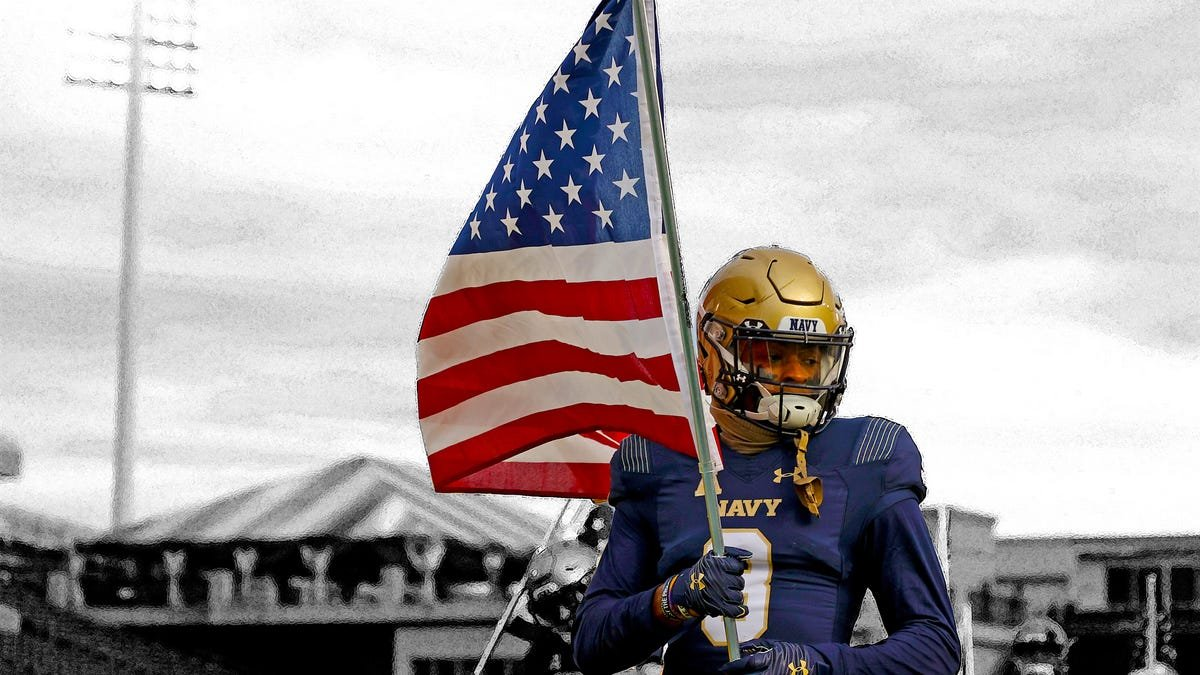 Navy won't let a Black football player go to the NFL - cover