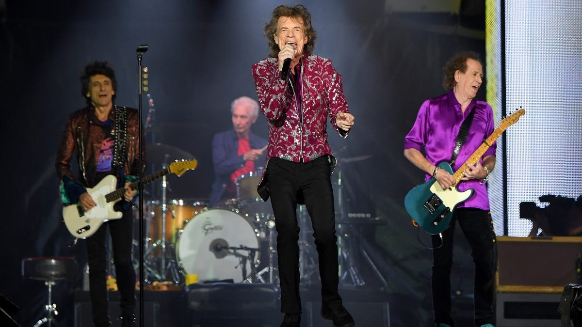 Rolling Stones announce what is probably still not their farewell tour