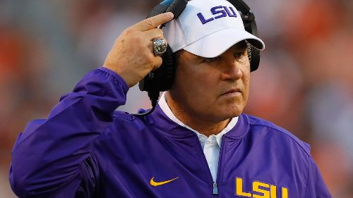 Les Miles Was a Well-Paid Predatory Pig at LSU