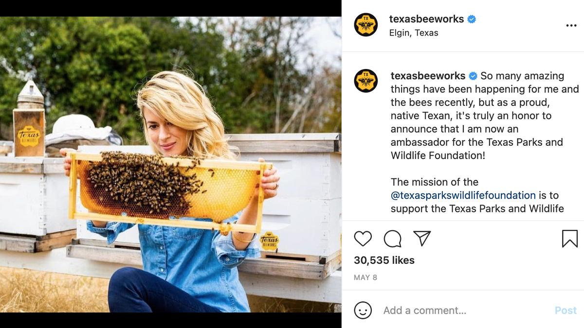 Texas Bee Lady Erika Thompson Beefs With Influencer Critic - cover
