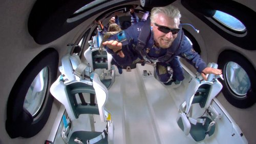 Richard Branson's Trip to Space Didn't Go as Planned