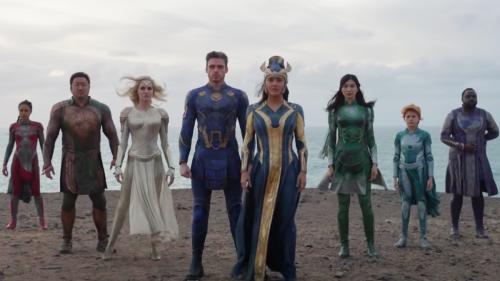 Marvel's Eternals Trailer Introduces Earth's Secret Super Team