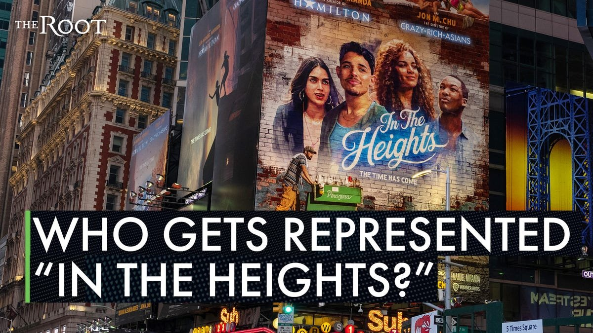 Let's Talk About In the Heights and the Erasure of Dark-Skinned Afro-Latinx Folks