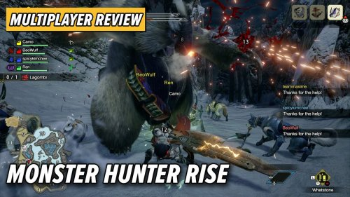 Long-Needed Tweaks Make Monster Hunter Rise A Smoother Online Experience