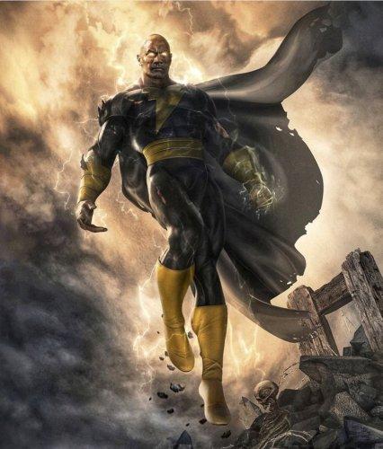"""""""Black Adam"""": Erster Teaser zeigt Dwayne Johnson im absolut spektakulären Kostüm"""