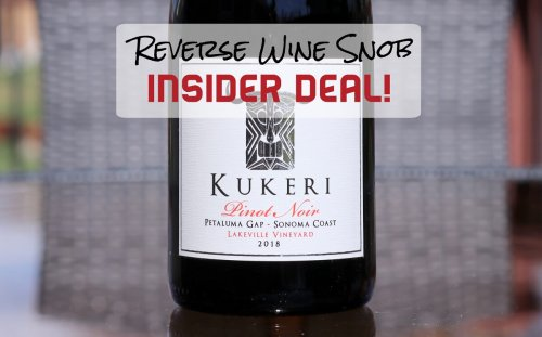 INSIDER DEAL! 95 point Pinot Almost Half Off!