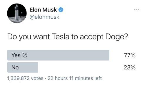 Will Tesla Accept Dogecoin?