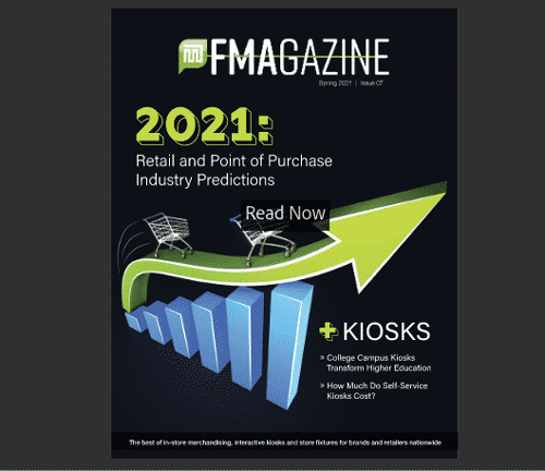 Trend Report 2021 – Brands, Point-of-Purchase, Kiosk Benefits, and Merchandising Displays