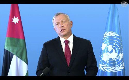 The Latest: Jordan's king recalls Gaza War in UN speech