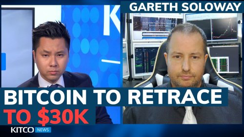 Bitcoin price to retrace to $30k, Fed to raise rates this year, where to run? Gareth Soloway