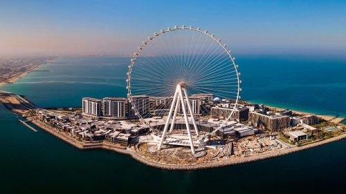 Das größte Riesenrad der Welt ist jetzt 250 Meter hoch – die Bilder