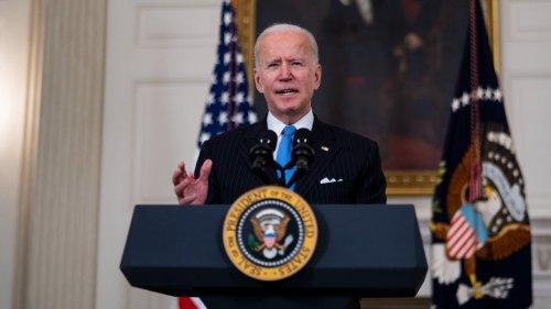 US-Präsident Joe Biden hat dritte Corona-Impfung erhalten