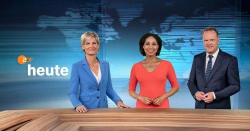 ZDF-Nachrichten heute erstmals in erneuertem Design