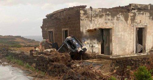 Zwei Tote bei Sturm auf italienischer Insel Pantelleria
