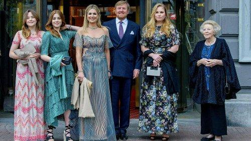 Glamouröser Auftritt der niederländischen Royals in Amsterdam