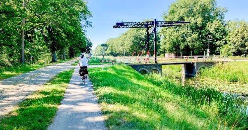 Radfahren am Nordhorn-Almelo-Kanal