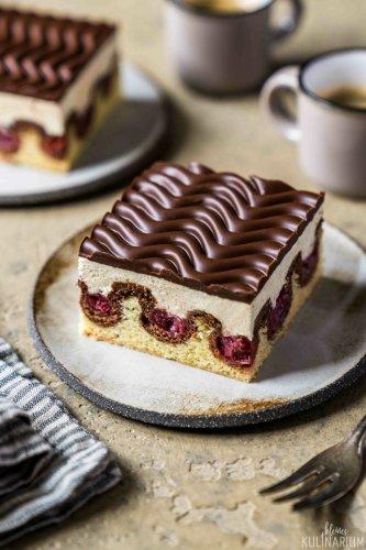 Klassische Donauwelle mit Pudding-Buttercreme - Kleines Kulinarium