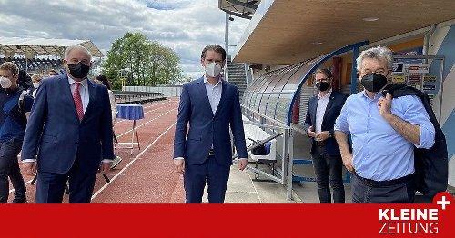"""Hartberg, Pöllau, Waltersdorf: Kanzler und Vizekanzler auf """"Öffnungs-Tour"""" durch die Oststeiermark"""