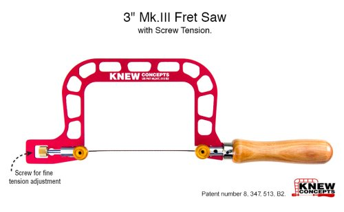 Knew Concepts Mk.III Precision Crafted Saws