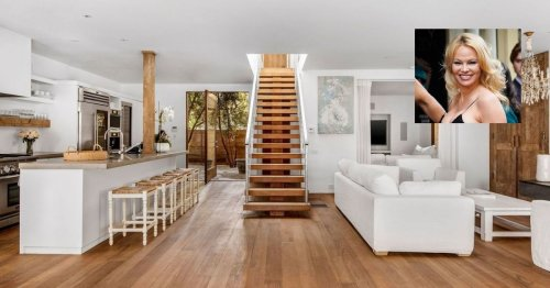 Pamela Anderson slashes asking price on Malibu manse by $2M as she lives new life in Canada