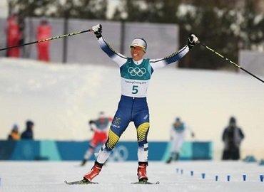 Charlotte Kalla wins first gold medal of Winter Olympics 2018 - KNine Vox