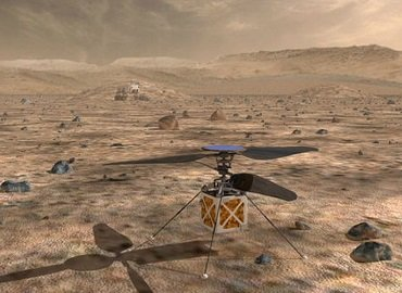 NASA will be sending a helicopter on Mars in 2020 - KNine Vox