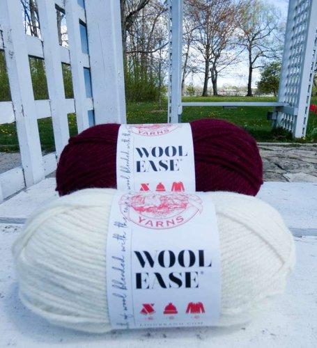 Sweet Striped Hat is so perfect knit up in Feels Like Butta yarn