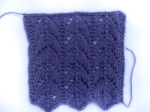 Knitting 4 more of my favorite stitch motifs – Part II