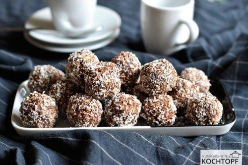 Kleine schwedische Chokladbollar – ganz einfach selber machen!