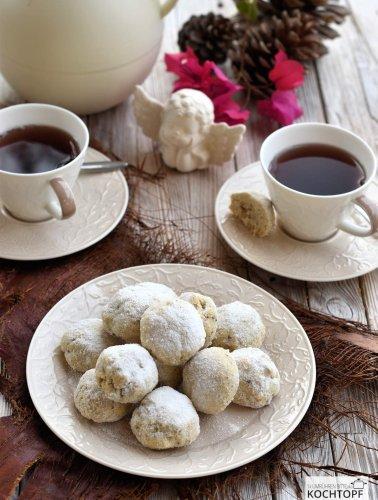 Russische Teekuchen, das Plätzchen mit 3 und mehr Namen!