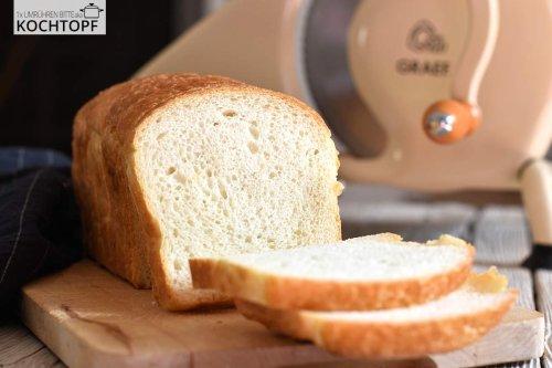 Weiches Kartoffel-Kastenbrot – eignet sich als Toast- & Sandwichbrot!