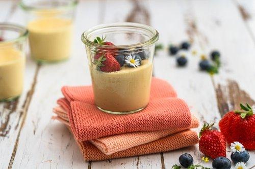 Vanille-Proteinpudding einfach selber machen