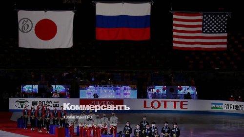 Российские фигуристы отрепетировали Олимпиаду