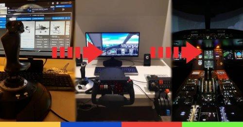 De 40 à 250 000 euros, voici les set-up les plus fous de Microsoft Flight Simulator