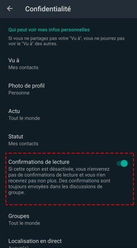 WhatsApp: comment lire son message sans que l'autre ne soit averti