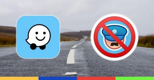 Les contrôles de police signalés sur Waze, c'est bientôt fini