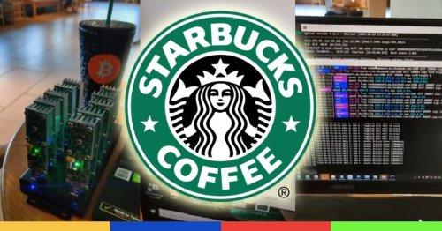 Génie: il crée une ferme à bitcoins de poche et mine chez Starbucks