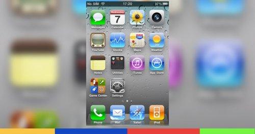 Un grand nostalgique ressuscite iOS 4 dans une appli