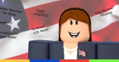 Un joueur de Roblox s'est incrusté dans une réunion de presse de la Maison-Blanche