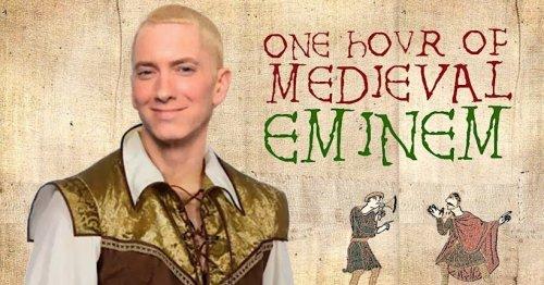 En écoute: une heure de classiques d'Eminem sauce musique médiévale
