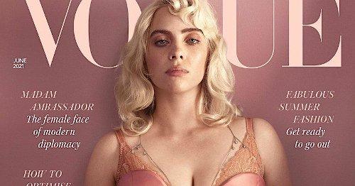 """Billie Eilish surprenante en lingerie pour Vogue: """"Je peux faire ce que je veux"""""""
