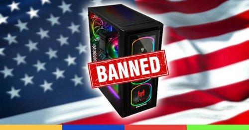 Pourquoi des États américains bannissent-ils certains PC gaming ?