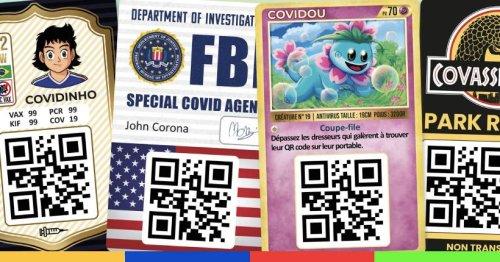 On peut désormais pimper son pass sanitaire en carte Pokémon ou Squid Game