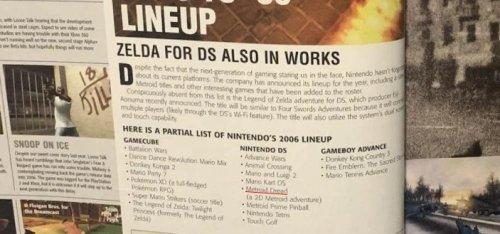 Metroid Dread était déjà dans les cartons de Nintendo il y a seize ans