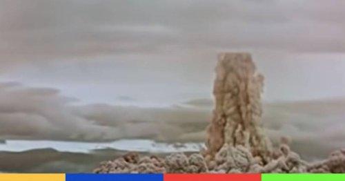 La Russie déclassifie les images de la plus grande explosion nucléaire
