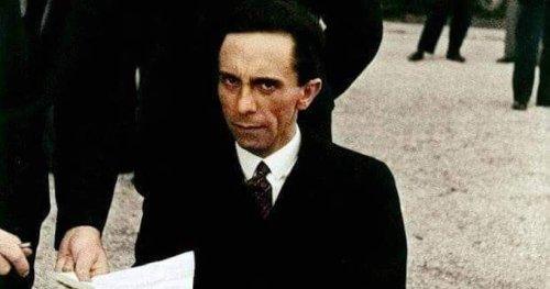 L'histoire derrière la photo du regard haineux de Joseph Goebbels, ministre d'Hitler